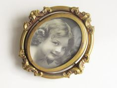Large Antique Victorian Swivel Photo by GrandVintageFinery on Etsy, $148.95