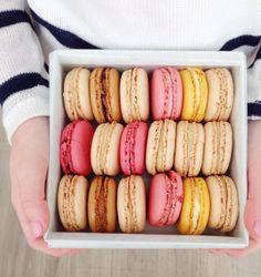macarons from Laduree NYC