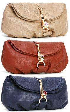 744cba5c6128 Deux Lux Sam Hook Clutch from Little Black Bag. Which color is your  favorite