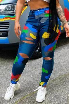 Light Blue Skinny Jeans, Blue Jeans, Skinny Waist, High Waist Jeans, Denim Fashion, Fashion Outfits, Fashion Shorts, Casual Outfits, Women's Fashion