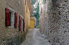 old French village of the Cevennes ...  aged, ancient, antique, architecture, beautiful, blue, building, cevennes, city, countryside, culture, environment, europe, european, france, french, gard, heritage, historic, historical, history, house, landscape, languedoc, languedoc-roussillon, medieval, mediterrean, monument, old, past, picturesque, provence, roman, roussillon, rural, south, southern, stone, style, summer, tourism, touristic, town, traditional, travel, view, village, vintage