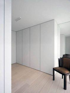 minus, the essence of living (calais) - Josh Moore Bedroom Wardrobe, Wardrobe Doors, Closet Doors, Home Bedroom, Bedroom Decor, Floor To Ceiling Wardrobes, Built In Cupboards, Interior Minimalista, Closet Designs