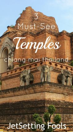 We've been moving at a rapid pace through Southeast Asia, so we're slowing things down with a two week stay in Chiang Mai; a lively, yet manageable, city in Northern Thailand. We aren't rushing off any trekking tours, but rather taking our time to slowly discover the city that has such a great reputation with visitors and ex-pats alike.