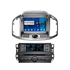 "KELOMTECHNOLOGY 8"" HD 1024*600 Quad Core Android 4.4.4 Capacitive Multi Touch Screen Car Radio Stereo Player for Chevrolet Captiva 2011 Supprot Wifi GPS Bluetooth Steering Wheel Control -- See this great product."