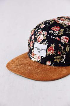 The Portland Rose Five Panel Floral Hat 5 Panel Hat 2bd96ba9c2219