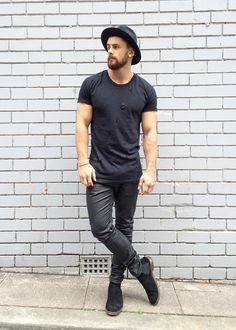 "bangarangblog: ""blackout shop: boots jeans hat """