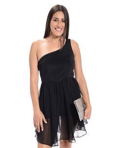 Flawless Finish One Sleeve Dress