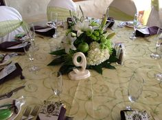 Guest table.