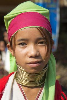 Neck rings in Burma