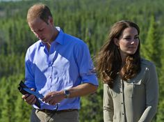 Kate Middleton and Prince William were in the wilderness.