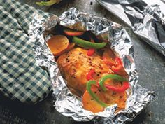 Grilled Chicken and Vegetables Packs