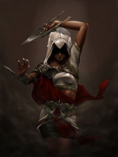 Les plus beaux fan arts d'Assassin's Creed au féminin - Miguel Mercado