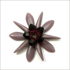 Wild roses and blackberries: Dagger flower tutorial