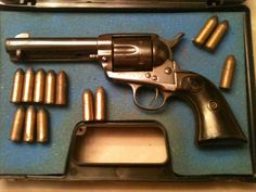 John Lafayette Vaughan's Colt Quickdraw Model Single Action Army Revolver