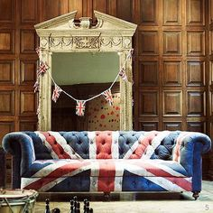 Now if this was an American flag couch I would have to have it.