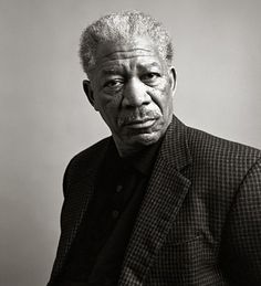 Morgan Freeman - I love his voice and his acting in the movie Red