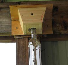 Wood Boring Bees Trap. $17.00, via Etsy.