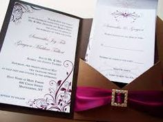 pocket wedding invitation template - Google Search