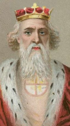 King Edward the Confessor:  King of England from 1042, the son of Ethelred II. He lived in Normandy with his mother Emma of Normandy's relatives until shortly before his accession to the English Throne. During his reign power was held by Earl Godwin and his son Harold, while the king devoted himself to religion, including the rebuilding of Westminster Abbey (consecrated in 1065), where he is buried.