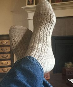 This is a simple yet sophisticated sock design that is easy and fun to knit. Directions are given for using 2 circulars, dpns or magic loop. The stitch pattern is written and in chart form. The pattern gives directions for both Women's and Men's medium sizes.