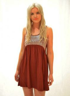 Maroon Suede Feel Skater Dress with Silver Detail Bodice,  Dress, maroon silver bodice suede skater, Chic