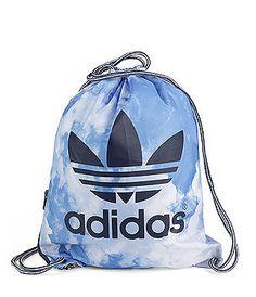 adidas bucket bag blue clouds
