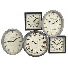 Pêle-mêle d'horloges