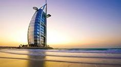 DUBAI, SUNSET & the private beach of BURJ AL ARAB