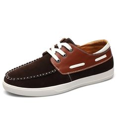 Big Size New Boat Shoes Breathable Comfortable Moccasins Men Flats With Nubuck Leather Lace Up Driving Shoes For Male c227 15 #clothing,#shoes,#jewelry,#women,#men,#hats,#watches,#belts,#fashion,#style