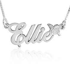 Personalize with Name Or Date Idea. Choice of Sterling Silver Chain Customize a Round Charm AJs Collection Personalized Free to Fly Sterling Silver Necklace Keep Your Angel Near Your Heart