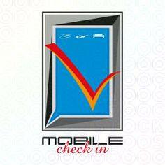 mobile check in logo