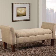 Wildon Home ® Upholstered Storage Bedroom Bench & Reviews | Wayfair