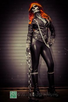 Ghost Rider Cosplay- Lisa Phalstaf Photo- VanSnug photography