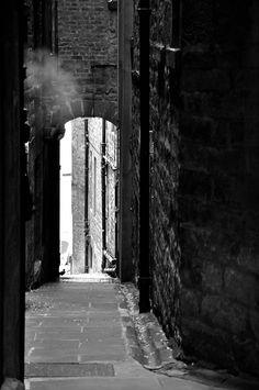 Walking Edinburgh's Royal Mile munching on shortbread - Scotland