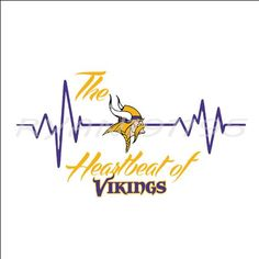 Minnesota Vikings, In A Heartbeat, Cricut Design, Svg File, Adobe Illustrator, Software, Clip Art, Change, Zip