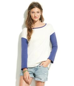 The baseball tee is a classic casual look