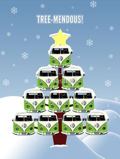 Nice Volkswagen 2017: VW Camper Christmas Treemendous by splashgti  Kenny chesney