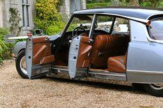 1971 Marcel Rimbert's exceptional DS 21 EFI in Gris Nacré with its original Pallas interior.