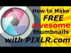 How to Make Cool Thumbnail with pixlr https://www.youtube.com/watch?v=edm_Mfmcq6c #viralvideos #CoolThumbnails