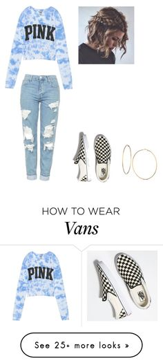 """Untitled #1"" by camarillomadison on Polyvore featuring Victoria's Secret, Vans and GUESS"