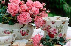 a garden tea party