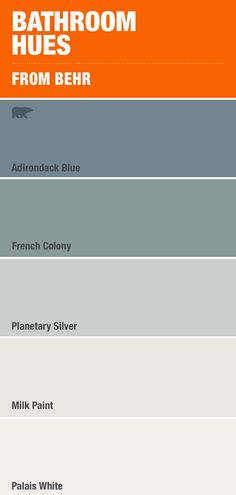 Nothing's more calming than this costal mix of blue and grey paint colors - Home decor interests Grey Paint Colors, Bedroom Paint Colors, Interior Paint Colors, Paint Colors For Home, House Colors, Soft Colors, Gray Paint, Interior Design, Behr Exterior Paint Colors