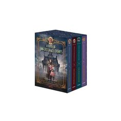 Series of Unfortunate Events Box Set : The Bad Beginning / The Reptile Room / The Wide Window / The Netflix Original Series, Netflix Series, The Miserable Mill, Netflix Originals, The Originals, Unfortunate Events Books, Reptile Room, Lemony Snicket, The Book