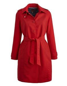 Joules Classic 123666 Womens Mac In Red