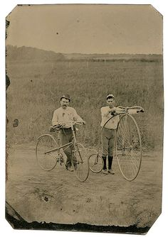 Penny Farthing High Wheel Bicycle