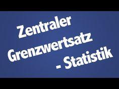 Zentraler Grenzwertsatz - Statistik 2 - YouTube