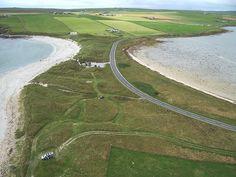 Dingieshowe Beach, Orkney Islands,