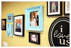 decorate with portraits or photos gallery wall