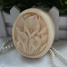 Creativemoldstore 1pcs 7.6x6.3x2.8cm Flowers (ZX14) Craft Art Silicone Soap Mold Craft Molds DIY Handmade Soap Mould >>> Read more reviews of the product by visiting the link on the image.