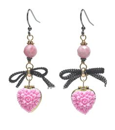 From Beadstyle Magazine. I don't usually do cutesy, but these are cute....